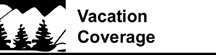 Vacation Coverage